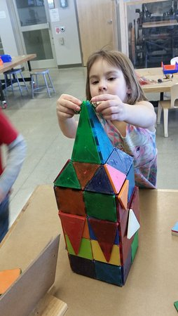 Mankato, MN: My Grand-daughter building