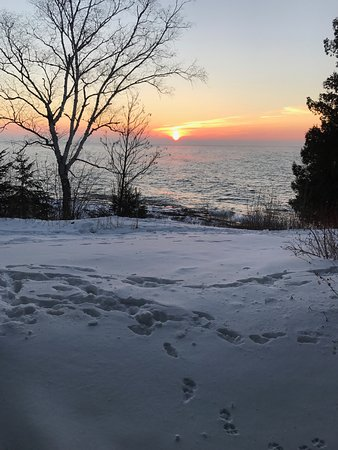 Tofte, MN: View from our townhouse