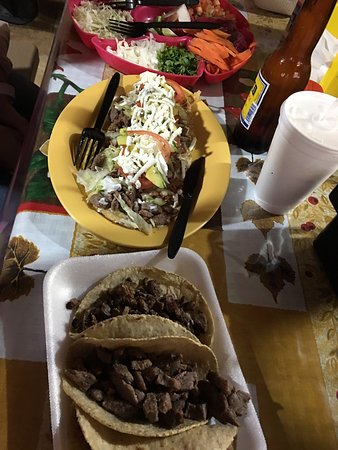 Best Tacos and Huaraches we have had