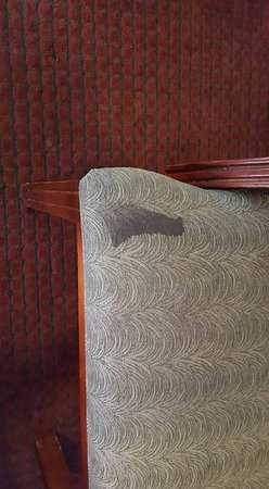 Days Inn Orlando/international Drive: This is one of the many stains in the room. This is the chair