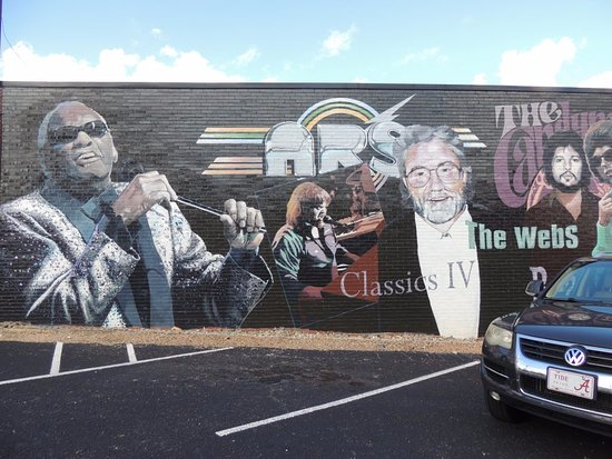 ‪‪Dothan‬, ألاباما: Wiregrass Contemporary Music Mural‬