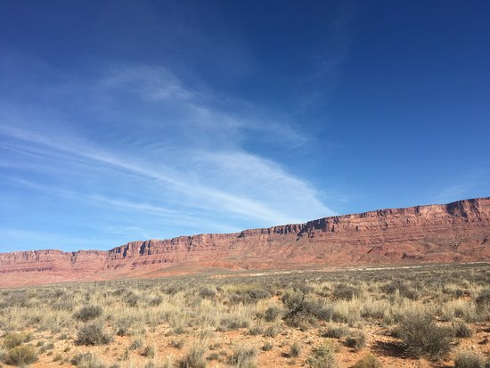 Boulder, UT: Vermillion Cliffs from US-89A.
