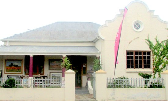 Stanford, Afrique du Sud : Art Gallery over the road