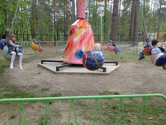 Bratsk, Ryssland: одна из каруселей