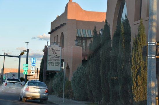 Van Horn, TX: Streetside entrance on East Broadway