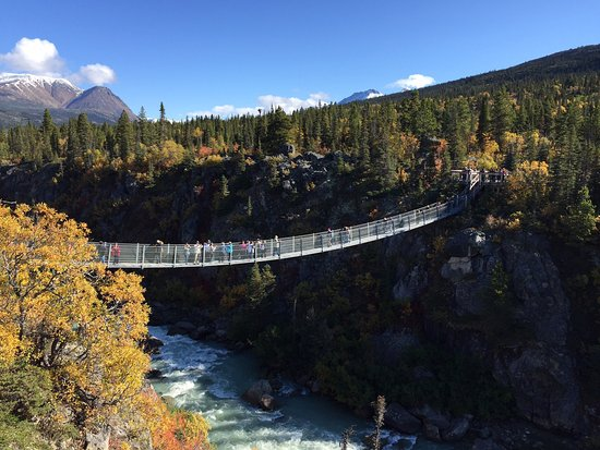 ‪Yukon Suspension Bridge‬