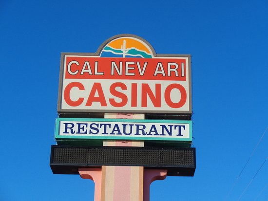 Cal Nev Ari, NV: Front sign