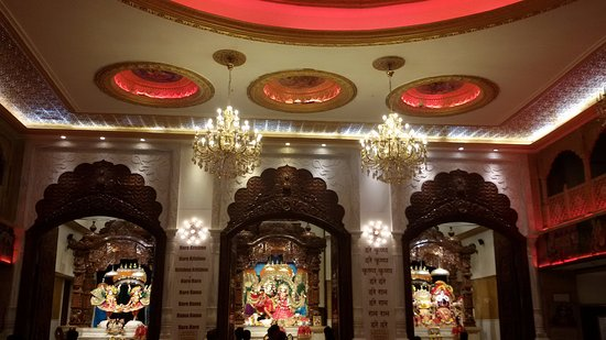 ISKCON NVCC Temple: Darshan view