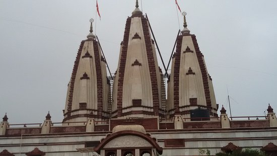 ISKCON NVCC Temple: Temple from outside