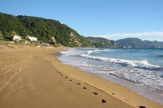 Private Tour Glyfada Beach in Corfu