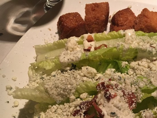 Sudbury, MA: The blue cheese salad. Delicious and excellent presentation.