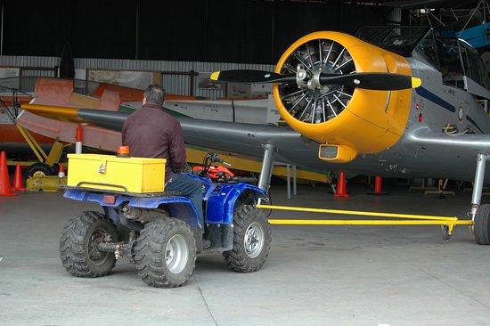 Benaalla Aviation Museum located at the Benalla Airport Samaria Rd