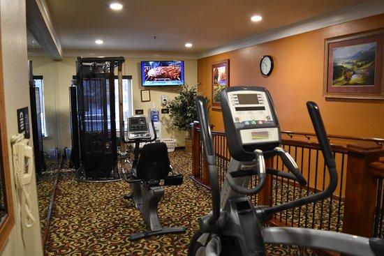 Comfort Inn and Suites Durango: Fitness room