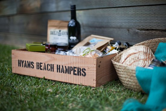 Hyams Beach, Австралия: A hamper for every occasion!