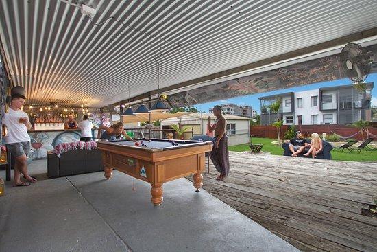 Gladstone, Australia: Bar and Pool Table