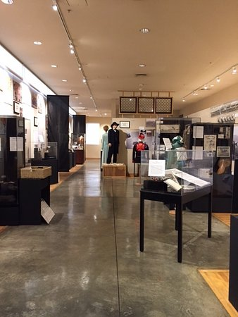 Arcadia, Californië: a partial inside view of the museum