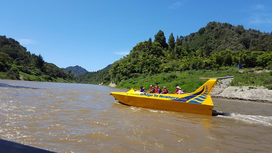 Wanganui, Nueva Zelanda: Jet boat