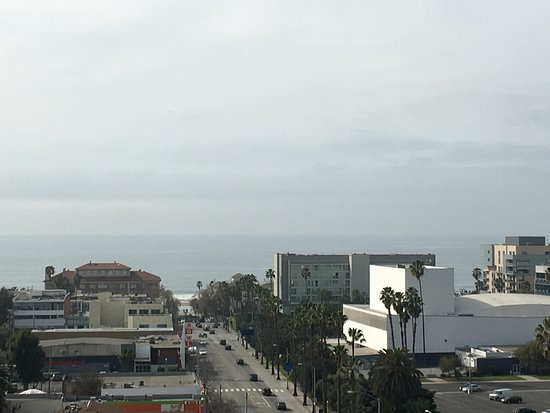 Le Meridien Delfina Santa Monica: View from our room.