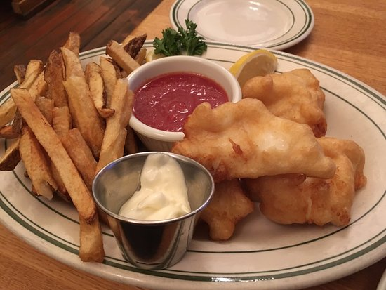 The Dalles, OR: Fish and chips