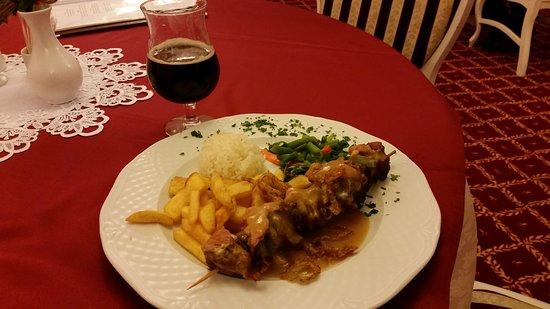 Hotel Svatojansky Kastiel: Ужин + Суп