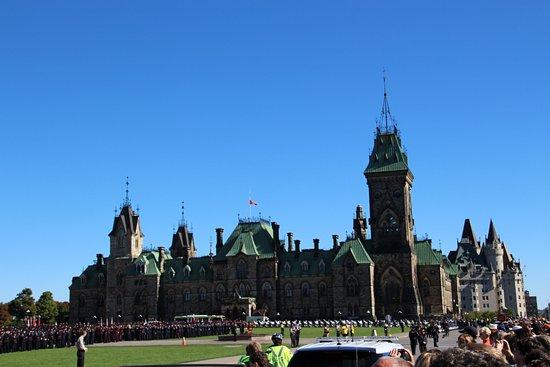 Ottawa, Kanada: Parlament Hill Hügel