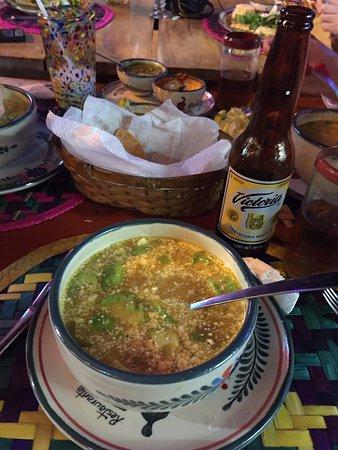 Pozole picture of pik nik cancun tripadvisor for Food bar pik