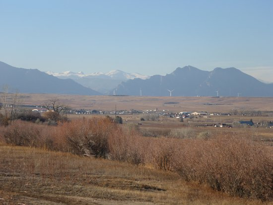 Westminster, CO: Mountain Peaks in the Distance