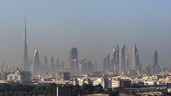 Novotel Dubai Deira City Centre: what a nice view !!!!!