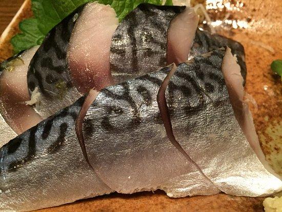 Nerima, Ιαπωνία: この日はしめ鯖がおススメでした