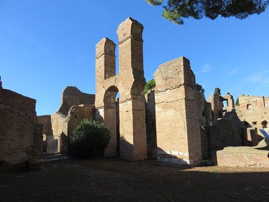 Ostia Antica, Italien: 遺構の一部