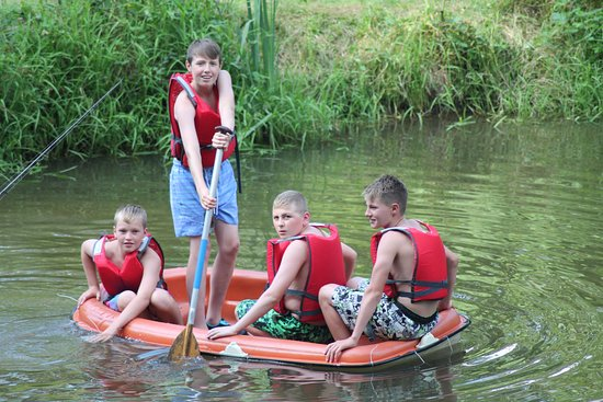 Uzerche, France: Fun on the Small Lake