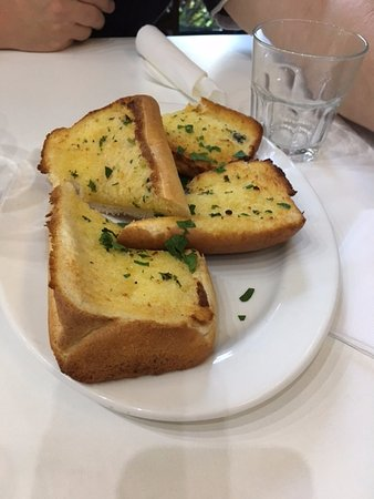 Speers Point, Australië: Garlic bread