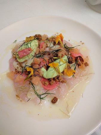 Ashcrofts Bistro: Kingfish sashimi