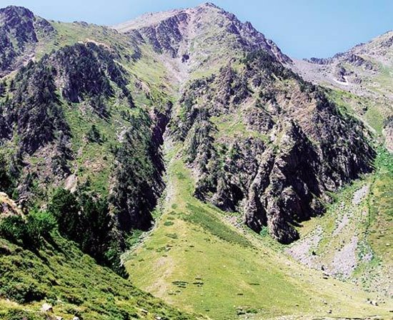 Arinsal, أندورا: Percanela - Les Fonts Pla de l'Estany 