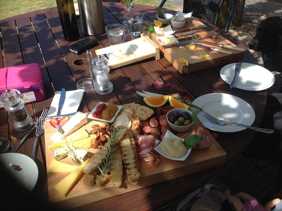 Russell, New Zealand: The beautifully made meat platter