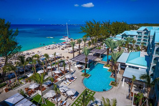 The Westin Grand Cayman Seven Mile Beach Resort & Spa: Aerial Pool / Beach