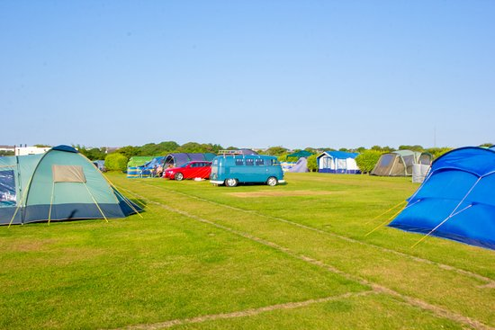 Redruth, UK: Non-electric grass pitches