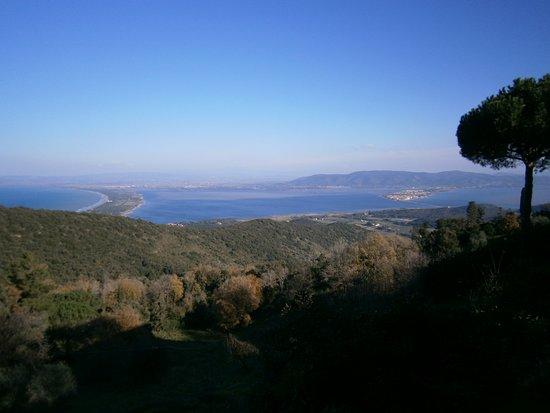 Monte Argentario, Ιταλία: Panorama dal Convento dei Passionisti