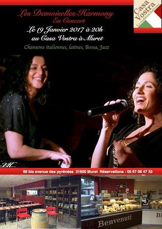 Muret, Frankrijk: Soiree concert live