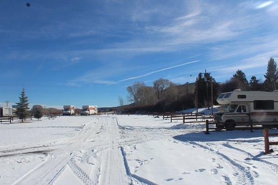 South Fork, CO: un peu frais, un peu de neige, mais tellement beau, et acceuil au top