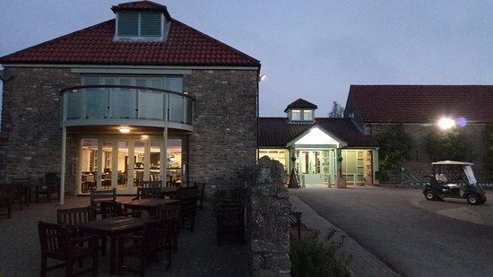 Thornbury, UK: Restaurant Area