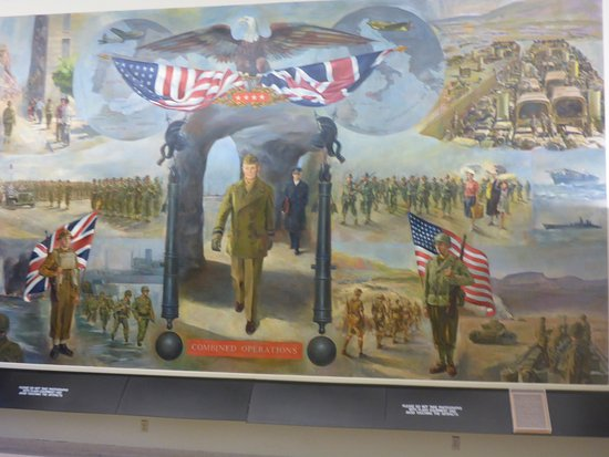 Abilene, KS: Mural in Museum Foyer