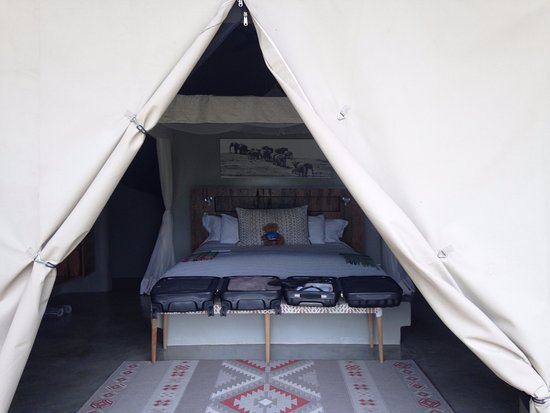 Garonga Safari Camp: Enteée de la chambre
