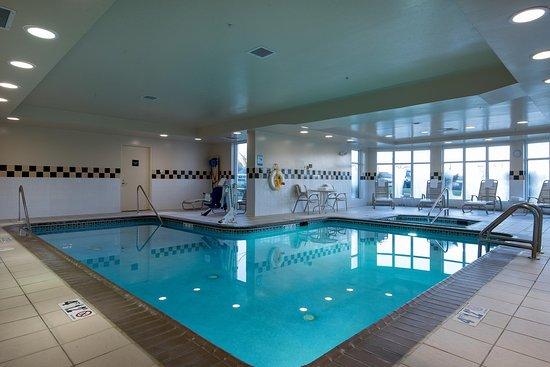 Owings Mills, Μέριλαντ: Indoor Pool