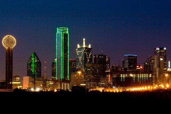 Irving, TX: The Dallas Skyline