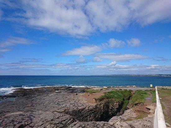 Fethard On Sea, Ireland: Depuis le garde-fou