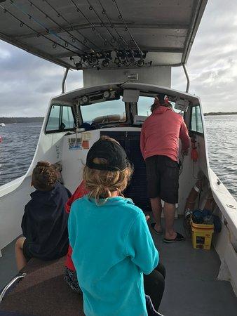 American River, ออสเตรเลีย: Off we go!
