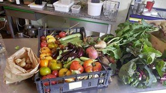 Vic-en-Bigorre, France: Légumes de notre maraîcher 'Terre de Sens'