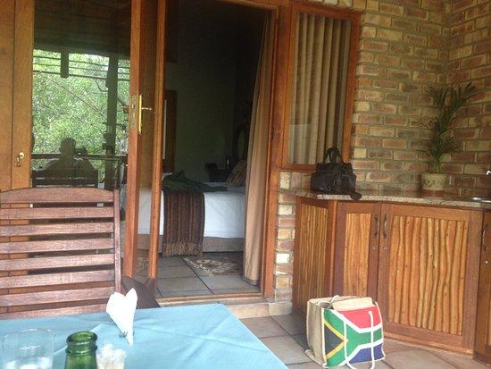 Marloth Park, Sydafrika: Terrasse