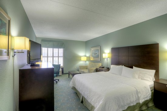 Hampton Inn St. Simons Island: Deluxe King Room